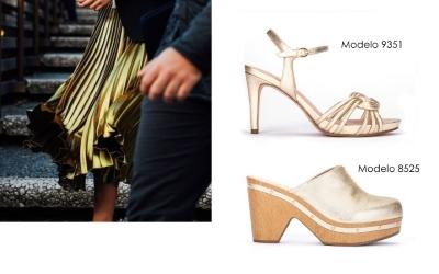 tendencias metalizados verano 2016 calzado
